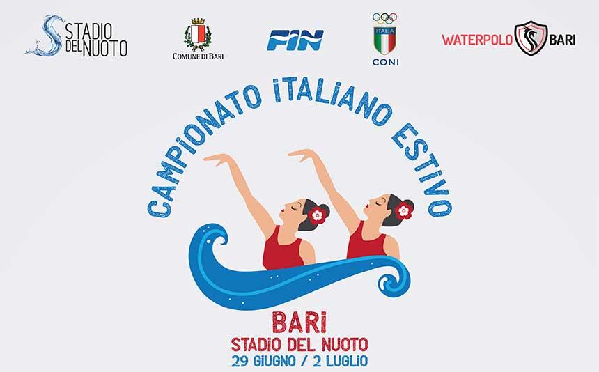Logo campionati nazionali di nuoto sincronizzato