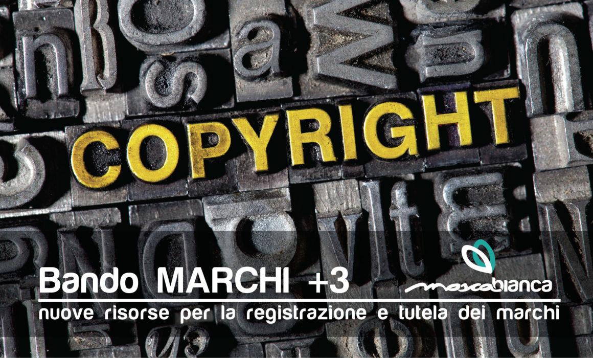 Bando Marchi +3 per la registrazione marchio