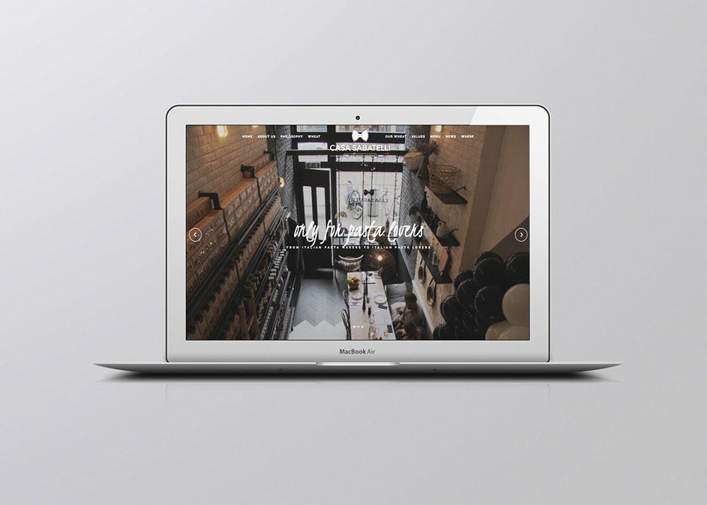 Casa Sabatelli realizzazione sito web