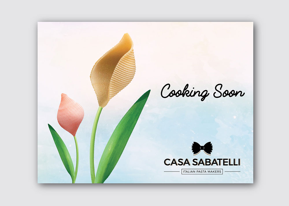 Casa Sabatelli campagna di lancio ristorante