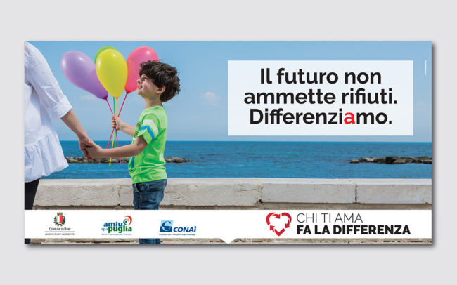 Campagna per la raccolta differenziata AMIU