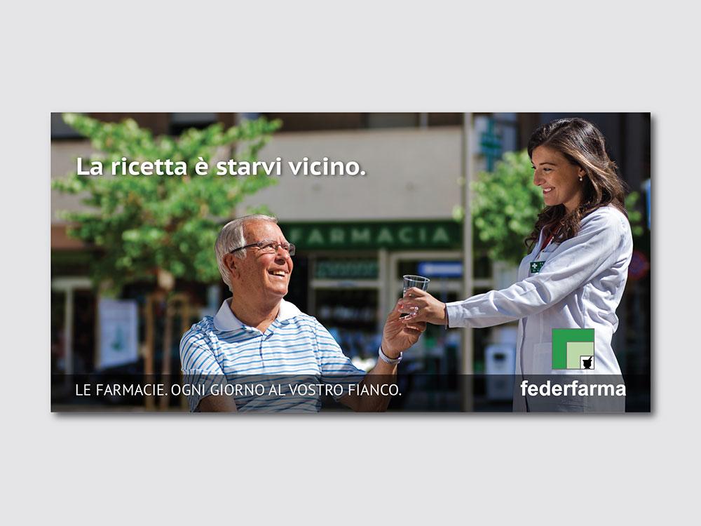 Federfarma campagna di comunicazione Bari