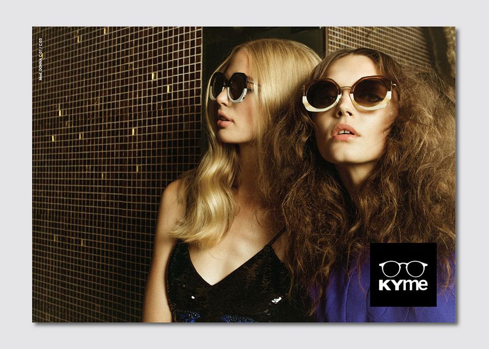 Kyme occhiali da sole shooting