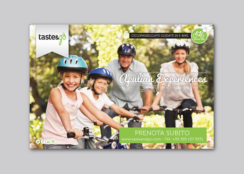 Taste&Go mobilità sostenibile ebike