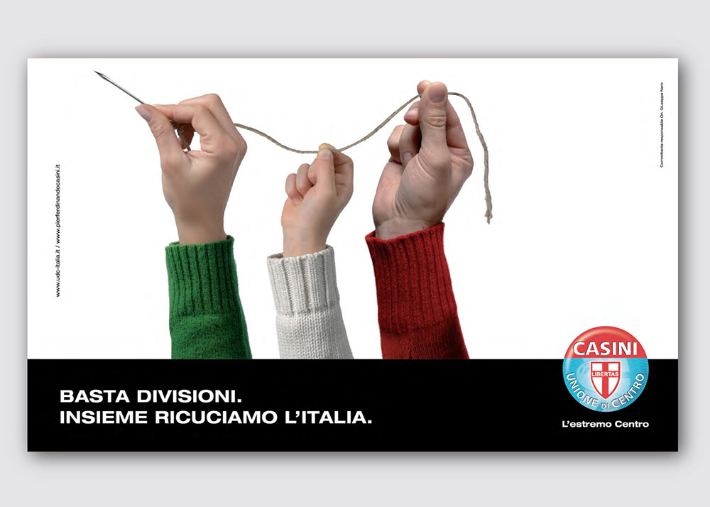 Udc campagna comunicazione 2010