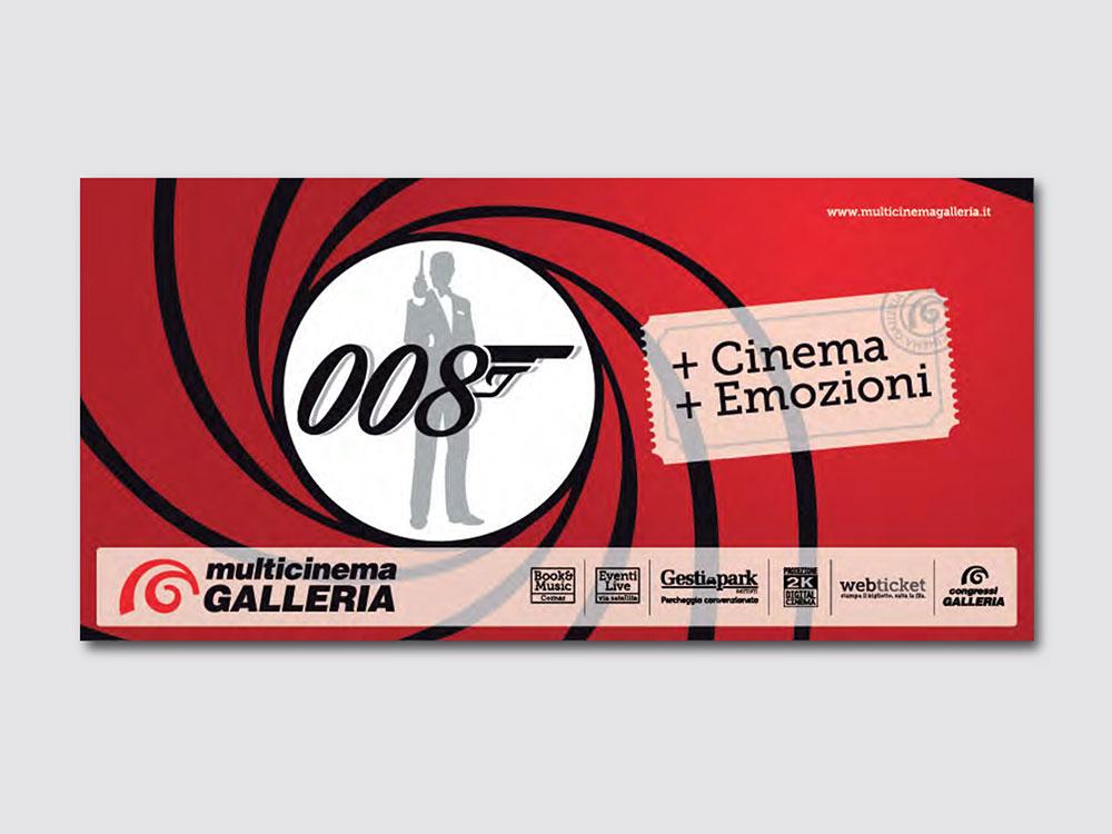Cinema Galleria Bari campagna di comunicazione