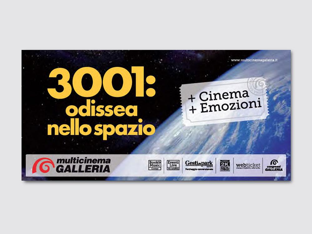 Cinema Galleria grafica pubblicità