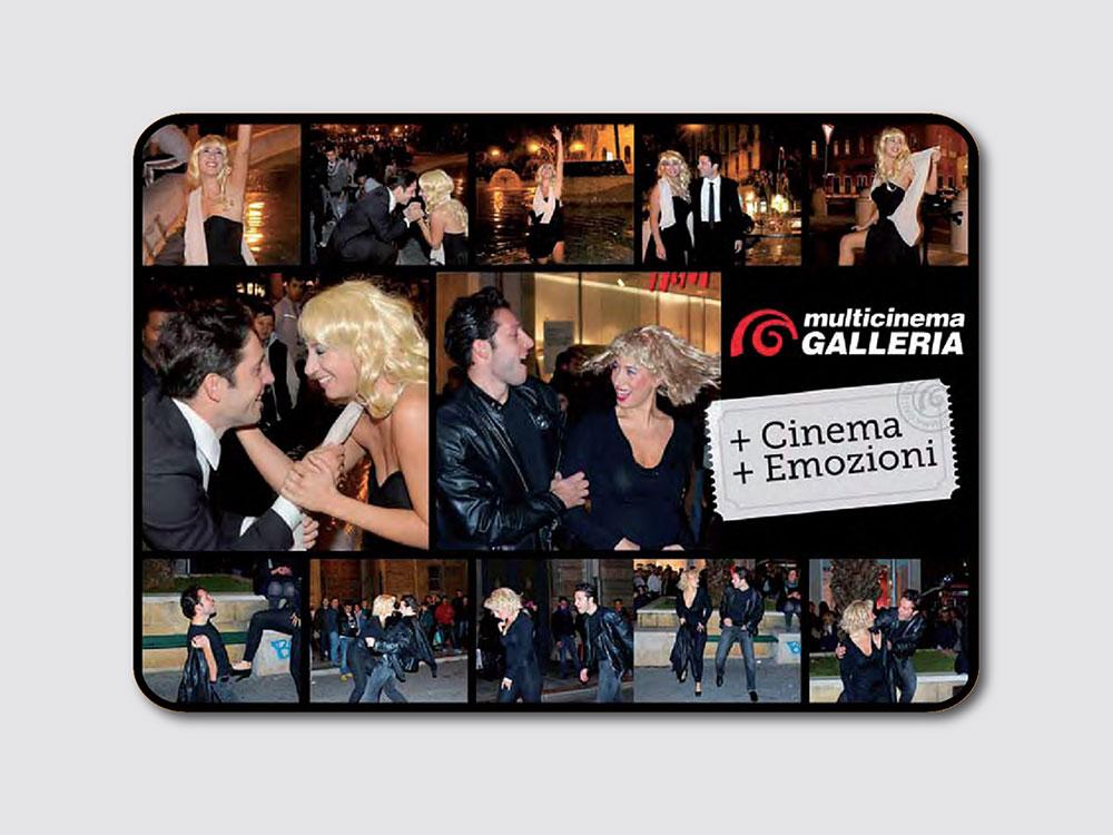Cinema Galleria guerrilla marketing bari