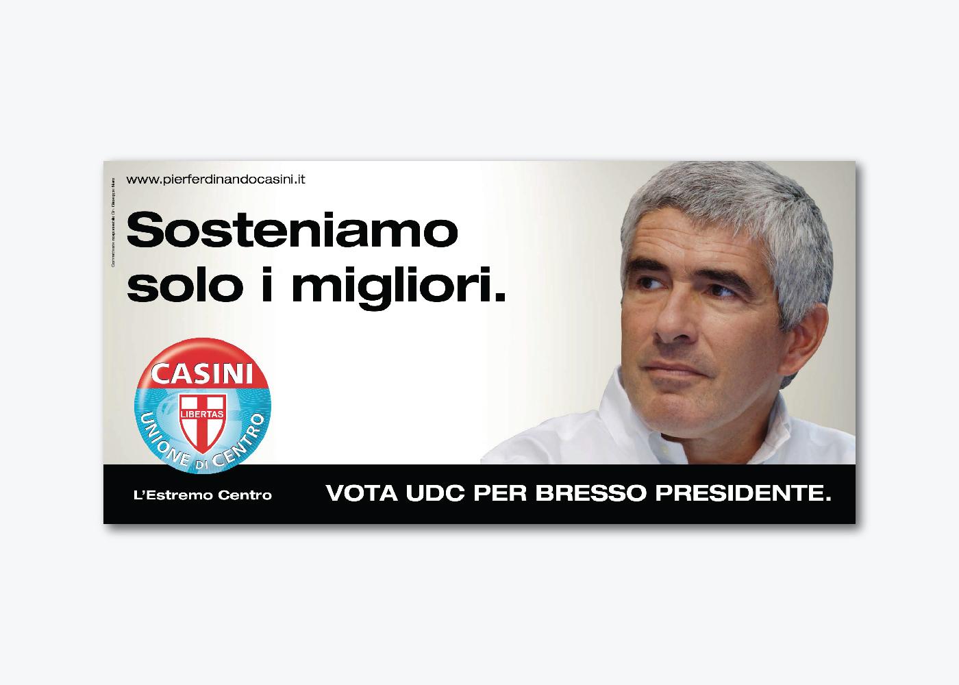 Campagna di comunicazione elezioni regionali UDC