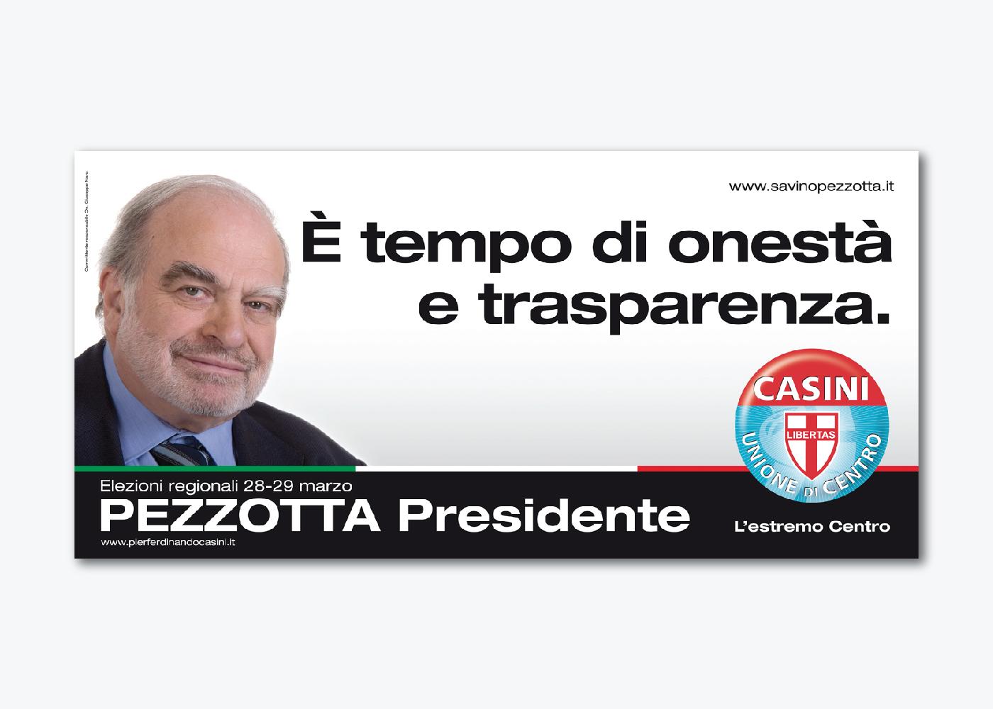Campagna di comunicazione Pezzotta UDC Lombardia