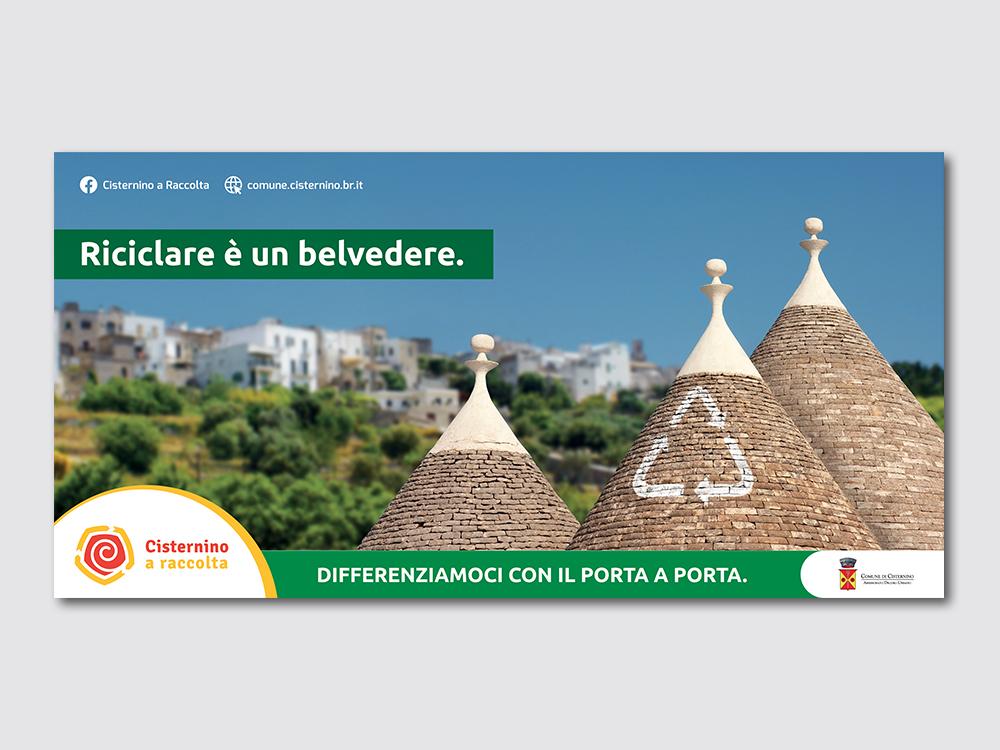 Campagna raccolta differenziata Comune di Cisternino